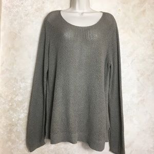 Old Navy Size XL Brown Long sweater
